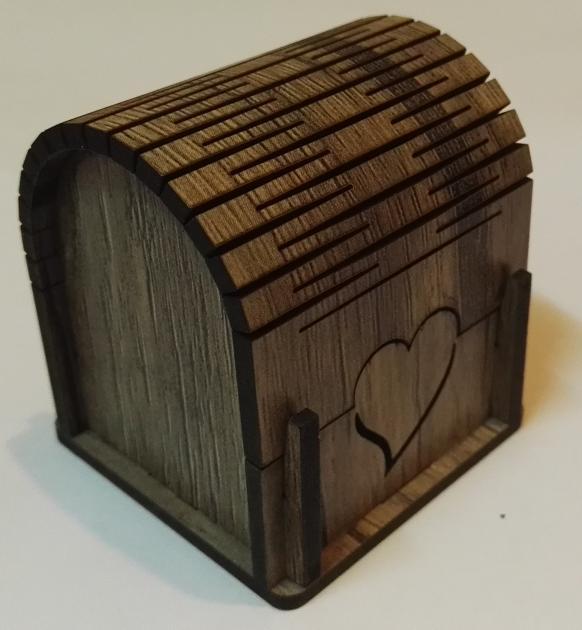 جعبه جواهر طلا - صندوقی